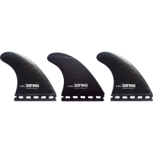 3d Fins - Freedom Lrg Futures Base Terracotta/grey - Surfboard Fins