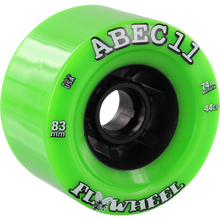Abec 11 - Flywheels Refly 83mm 74a Lime/blk - Skateboard Wheels (Set of Four)