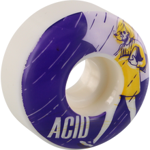 Acid - Type A Salt 52mm 99a White - Skateboard Wheels (Set of Four)
