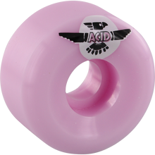 Acid - Type A Sidecut Thunder Pigeon 53mm 99a Pink - Skateboard Wheels (Set of Four)