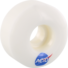 Acid - Type A Space 53mm 99a White - Skateboard Wheels (Set of Four)