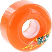 Acid - Funner Skateraid 56mm 86a Orange - Skateboard Wheels (Set of Four)