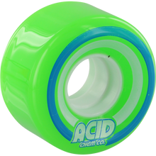 Acid - Pods Conical 55mm 86a Green - Skateboard Wheels (Set of Four)