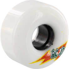 Acid - Funner Skateraid 56mm 86a White - Skateboard Wheels (Set of Four)