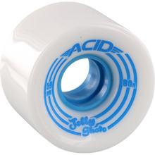 Acid - Jelly Shots 59mm 82a White - Skateboard Wheels (Set of Four)