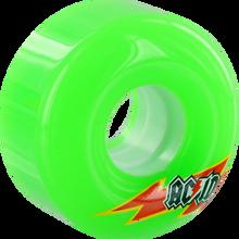 Acid - Funner Skateraid 56mm 86a Green - Skateboard Wheels (Set of Four)