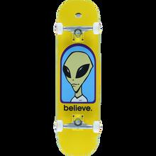 Alien Workshop - Believe Complete-8.0 Yellow - Complete Skateboard
