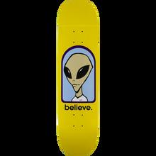 Alien Workshop - Believe Deck-7.75 Yellow - Skateboard Deck