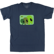 Alien Workshop - Strobe Ss S-overdyed Midnight - T-Shirt