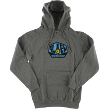 Alien Workshop - Og Logo Hd/swt L-heather Grey/blue - Skateboard Sweatshirt
