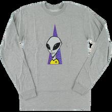 Alien Workshop - Visitor L/s Xl-heather Grey - T-Shirt
