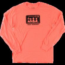 Alien Workshop - Abduction L/s M-lava Red - T-Shirt