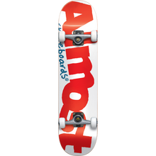 Almost - Color Logo Complete-7.37 White/red - Complete Skateboard
