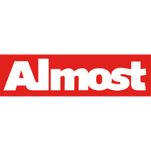 Almost - Red Bar Decal Single