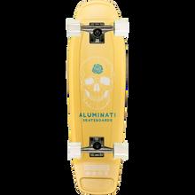 Aluminati - Skull Tombstone Complete-7.5x26.5 - Complete Skateboard