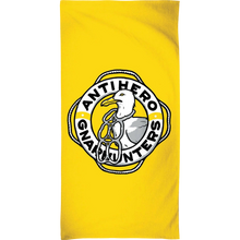 Anti Hero - X Gnarhunters Beach Towel Yellow