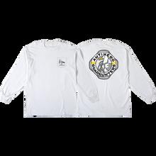 Anti Hero - X Gnarhunters L/s M-white - T-Shirt