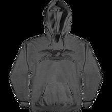 Anti Hero - Basic Eagle Hd/swt Xl-charcoal Heather/blk - Skateboard Sweatshirt