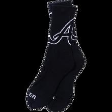 Baker - Atl Crew Socks Blk/wht Single Pair - Skateboard Socks