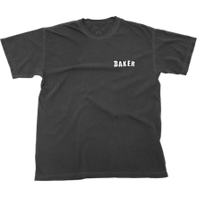 Baker - Uno Ss S-faded Black - T-Shirt