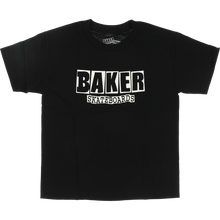 Baker - Brand Logo Yth Ss S-black - Youth Skateboard T-Shirt