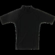 Block Surf - Surf Rash Guard / Short Sleeve M-black