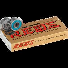 Bones Bearings - Big Balls Reds (single Set) Bearings - Skateboard Bearings