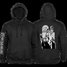 Bones Wheels - Night Shift Hd/swt S-black - Skateboard Sweatshirt
