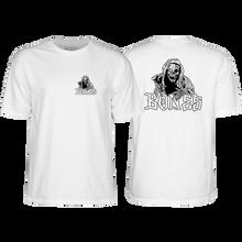 Bones Wheels - Night Crawler Ss S-white - T-Shirt
