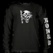 Bones Wheels - Night Prowler L/s Xl-black - T-Shirt