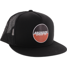 Bronson Speed Co - Logo Mesh Hat Adj-blk