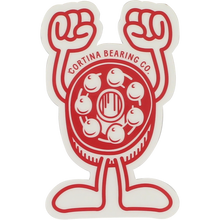 Cortina Bearings - Mascot Sticker