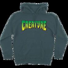 Creature - Logo Hd/swt M-alpine Green - Skateboard Sweatshirt