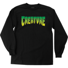 Creature - Logo L/s S-black - T-Shirt