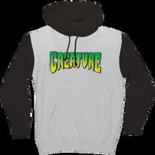 Creature - Logo Hd/swt M-grey Heather/black - Skateboard Sweatshirt