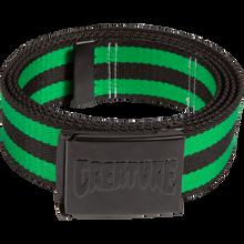 Creature - Logo Stamp Web Belt Black/green