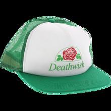 Death Wish - Rose Hat Adj-wht/grn