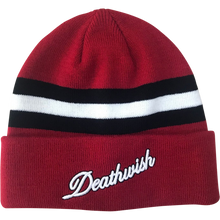 Death Wish - Classic Cuff Beanie Red