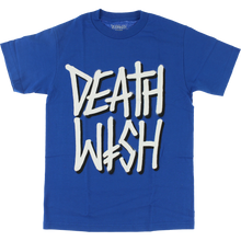 Death Wish - Deathstack Ss S-royal/wht - T-Shirt