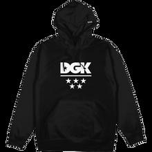 Dgk - All Star Hd/swt L-black - Skateboard Sweatshirt