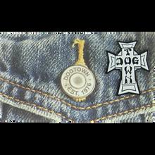 Dogtown - Vintage Cross Enamel Pin