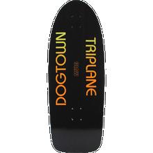 Dogtown - Muir Triplane Dk-11x30.12 Blk Yorkite/org - Skateboard Deck