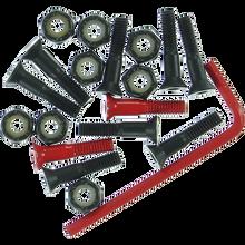 "Element - Hardware Set Allen 1"" Blk/red - Skateboard Hardware"