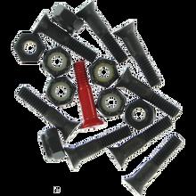 """Element - Hardware Set Phillips 7/8"""" Blk/red - Skateboard Hardware"""