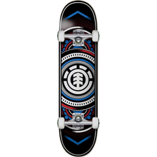 Element - Hatched Complete-7.7 Red/blue - Complete Skateboard