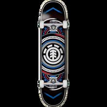 Element - Hatched Complete-8.0 Red/blue - Complete Skateboard