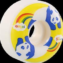 Enjoi - Rainbow Fart 52mm Wht/yel - Skateboard Wheels (Set of Four)