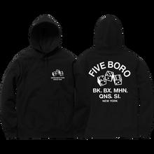 Five Boro - 4-5-6 Dice Hd/swt M-black - Skateboard Sweatshirt