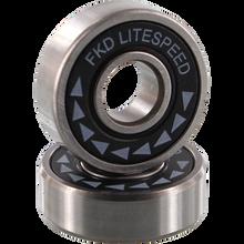Fkd - Litespeed Bearing Set Blk/sil - Skateboard Bearings