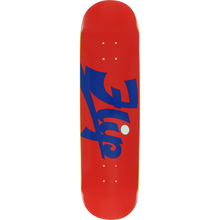 Flip - Script Deck-8.12 Red - Skateboard Deck